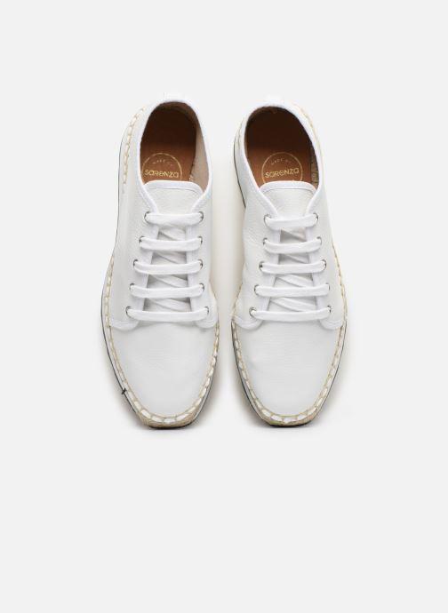 Baskets Made by SARENZA South Village Basket #1 Blanc vue portées chaussures