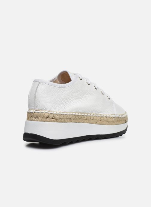 Sneakers Made by SARENZA South Village Basket #1 Bianco immagine frontale
