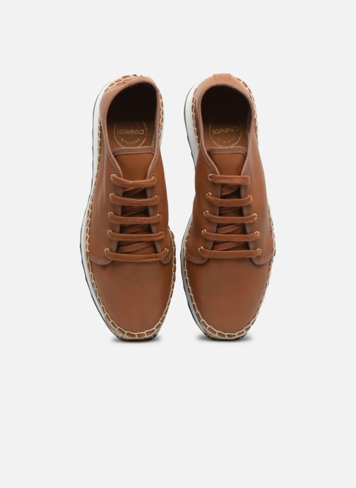 Sneakers Made by SARENZA South Village Basket #1 Marrone modello indossato