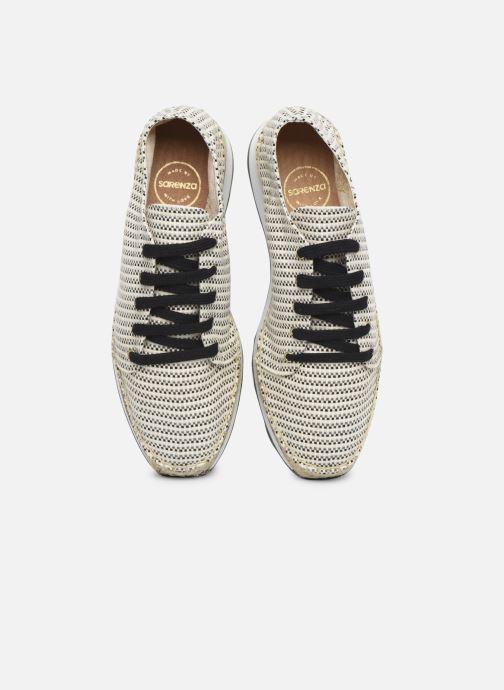 Sneakers Made by SARENZA South Village Basket #1 Beige modello indossato