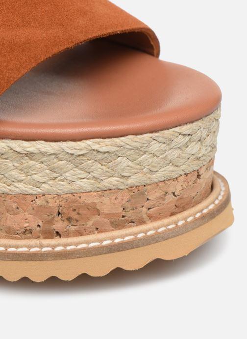 Scarpe di corda Made by SARENZA South Village Espadrilles #3 Marrone immagine sinistra