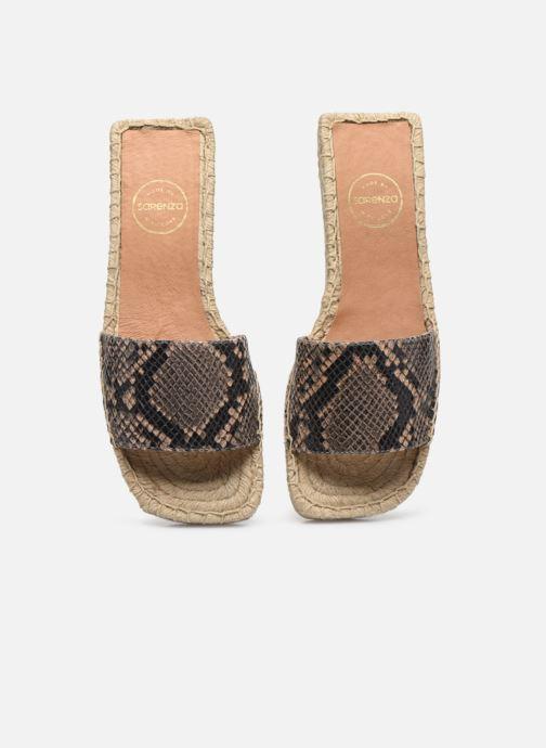 Scarpe di corda Made by SARENZA South Village Espadrilles #4 Marrone modello indossato