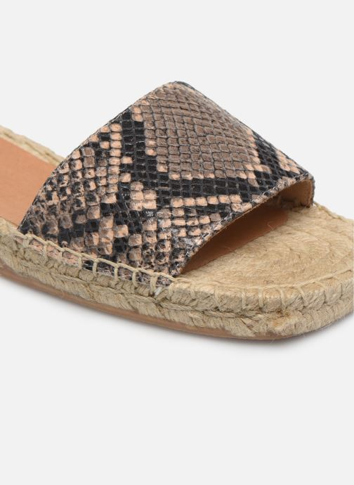 Espadrilles Made by SARENZA South Village Espadrilles #4 braun ansicht von links
