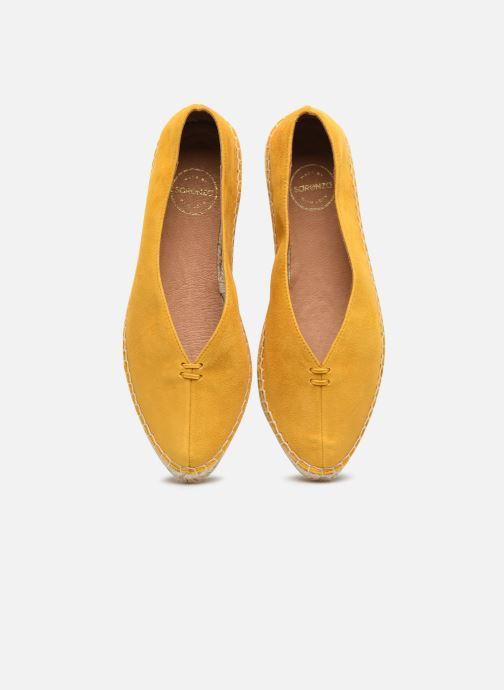 Espadrilles Made by SARENZA South Village Espadrilles #6 Jaune vue portées chaussures