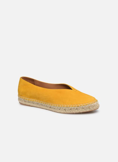 Espadrilles Made by SARENZA South Village Espadrilles #6 Jaune vue droite