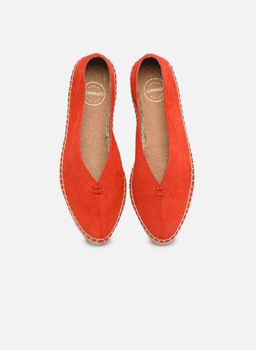 Scarpe di corda Made by SARENZA South Village Espadrilles #6 Arancione modello indossato