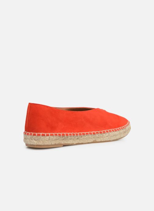 Alpargatas Made by SARENZA South Village Espadrilles #6 Naranja vista de frente
