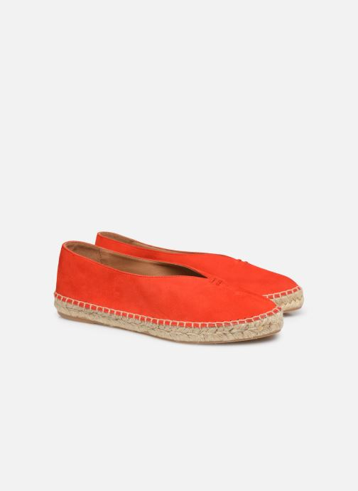 Alpargatas Made by SARENZA South Village Espadrilles #6 Naranja vistra trasera