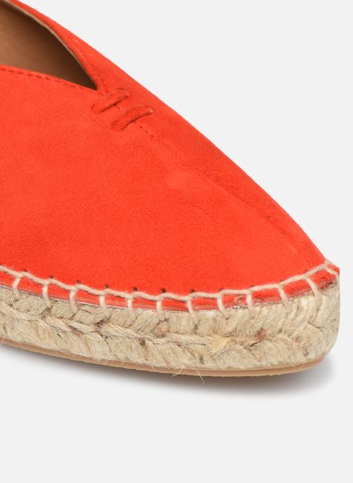 Alpargatas Made by SARENZA South Village Espadrilles #6 Naranja vista lateral izquierda