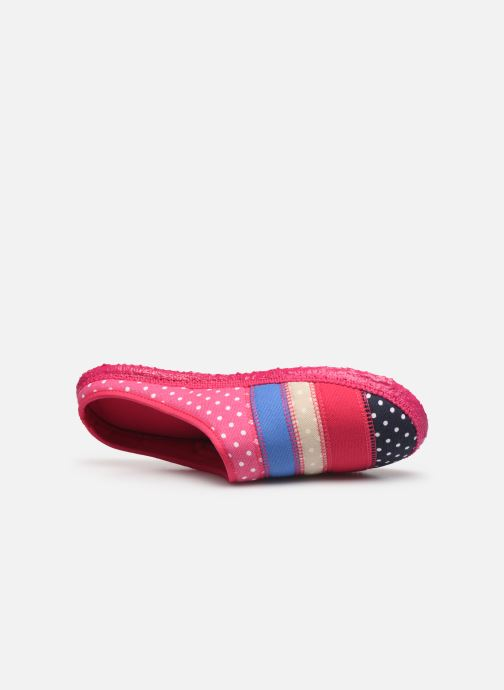 Chaussons Giesswein Polling Multicolore vue gauche