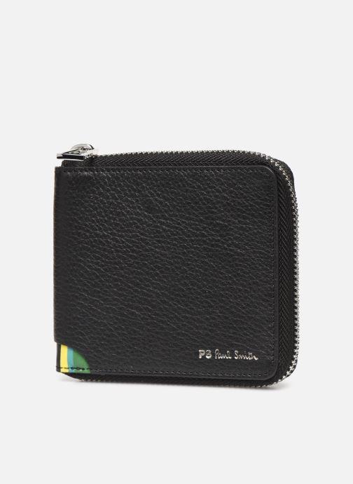 Portemonnaies & Clutches PS Paul Smith Ps Zip Coin Billfold schwarz schuhe getragen