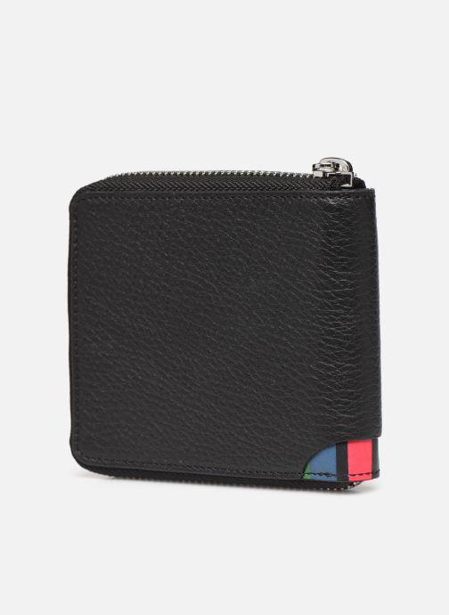 Portemonnaies & Clutches PS Paul Smith Ps Zip Coin Billfold schwarz ansicht von rechts