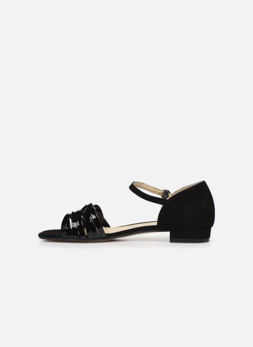 Sandales et nu-pieds Georgia Rose Dominou Noir vue face