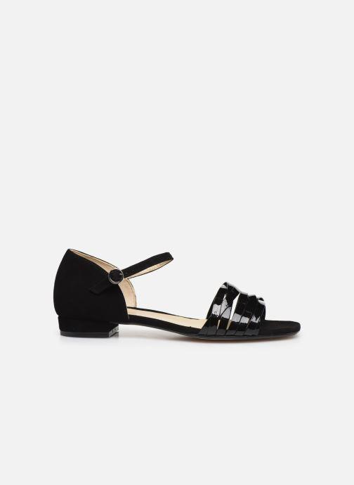 Sandales et nu-pieds Georgia Rose Dominou Noir vue derrière