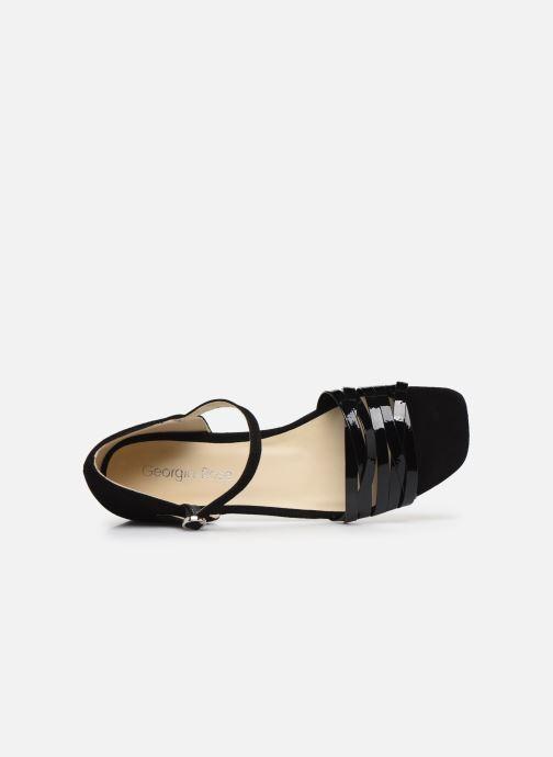 Sandales et nu-pieds Georgia Rose Dominou Noir vue gauche