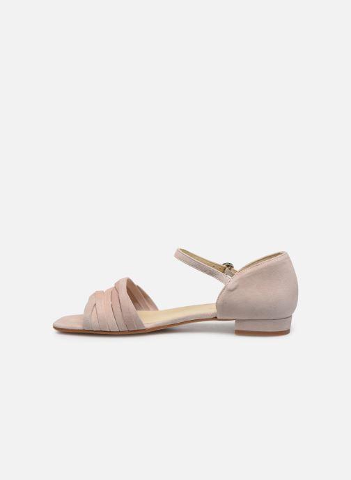 Sandales et nu-pieds Georgia Rose Dominou Beige vue face
