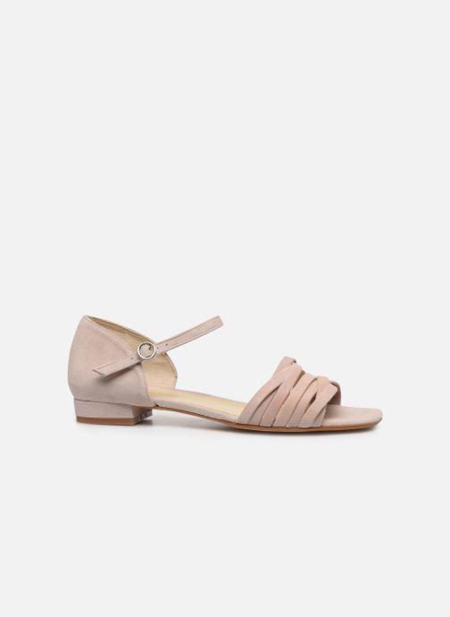 Sandales et nu-pieds Georgia Rose Dominou Beige vue derrière