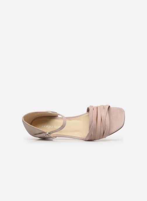 Sandales et nu-pieds Georgia Rose Dominou Beige vue gauche