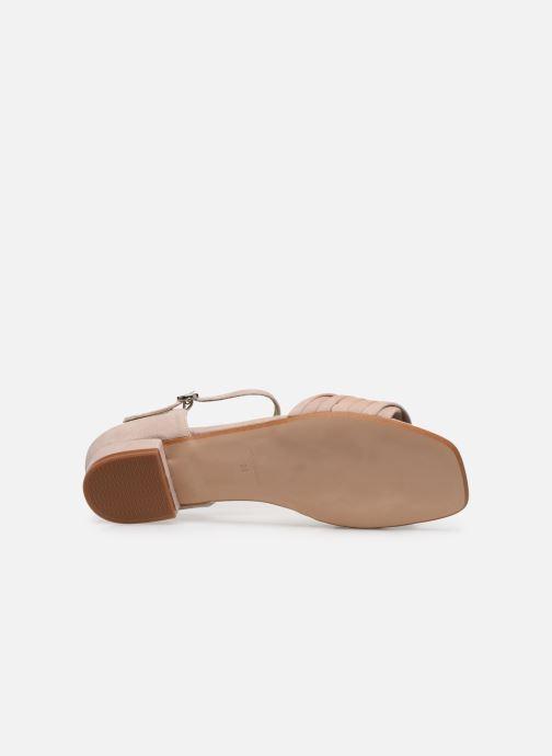 Sandales et nu-pieds Georgia Rose Dominou Beige vue haut