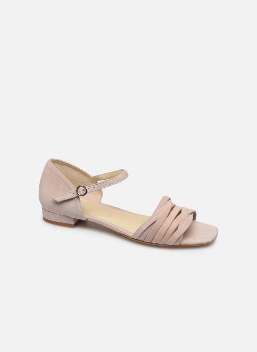 Sandales et nu-pieds Georgia Rose Dominou Beige vue détail/paire