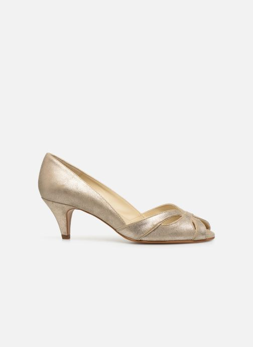 Zapatos de tacón Georgia Rose Dicroisa Oro y bronce vistra trasera