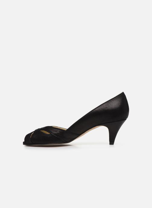 Zapatos de tacón Georgia Rose Dicroisa Negro vista de frente