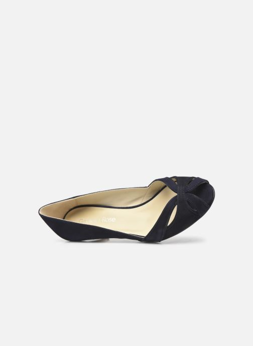 Zapatos de tacón Georgia Rose Dicroisa Azul vista lateral izquierda