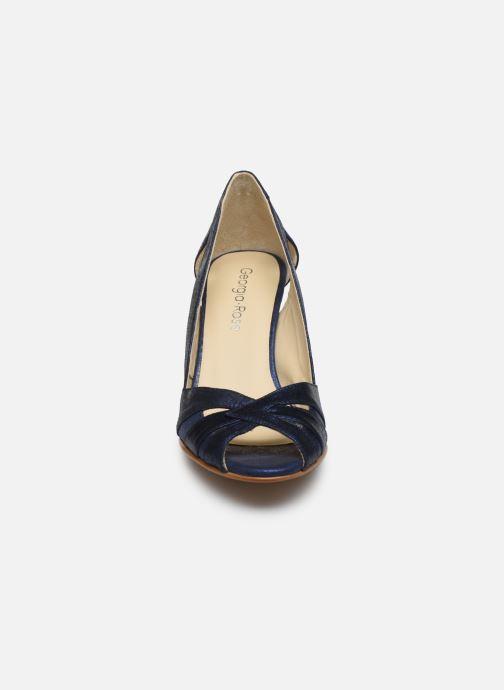 Zapatos de tacón Georgia Rose Demerva Azul vista del modelo