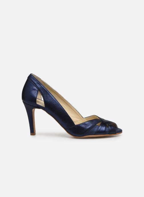 Zapatos de tacón Georgia Rose Demerva Azul vistra trasera