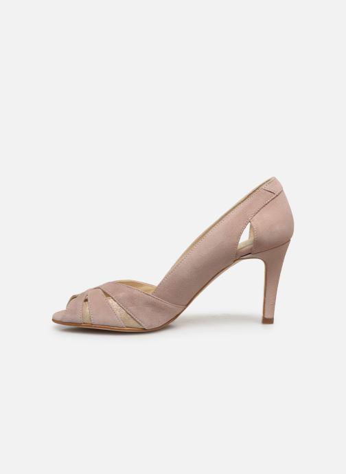 Zapatos de tacón Georgia Rose Demerva Beige vista de frente