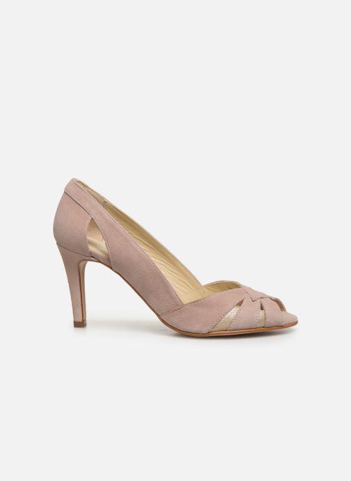 Zapatos de tacón Georgia Rose Demerva Beige vistra trasera