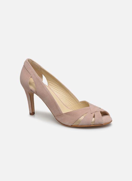 Zapatos de tacón Georgia Rose Demerva Beige vista de detalle / par