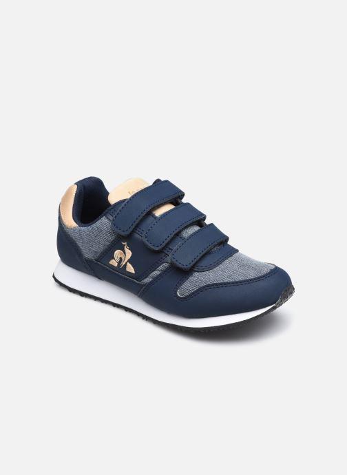 Sneakers Le Coq Sportif Jazy Classic PS Blauw detail