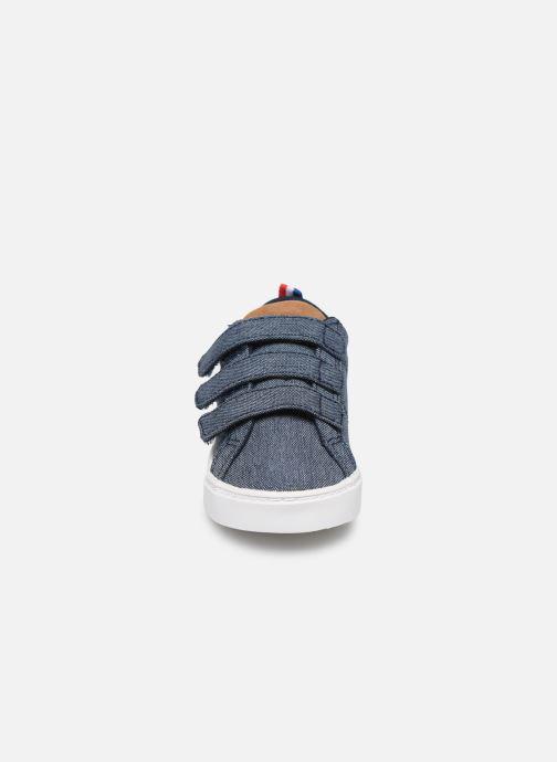 Baskets Le Coq Sportif Verdon Classic Inf Bleu vue portées chaussures
