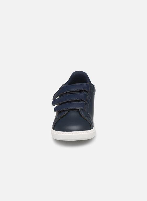 Baskets Le Coq Sportif Courset Inf Bleu vue portées chaussures