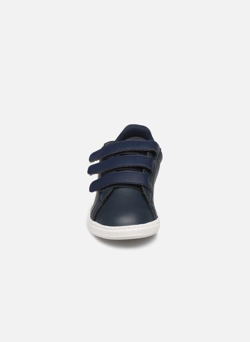 Baskets Le Coq Sportif Courset PS Bleu vue portées chaussures