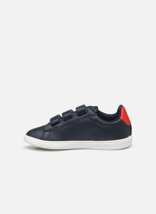 Sneakers Le Coq Sportif Courset PS Blauw voorkant