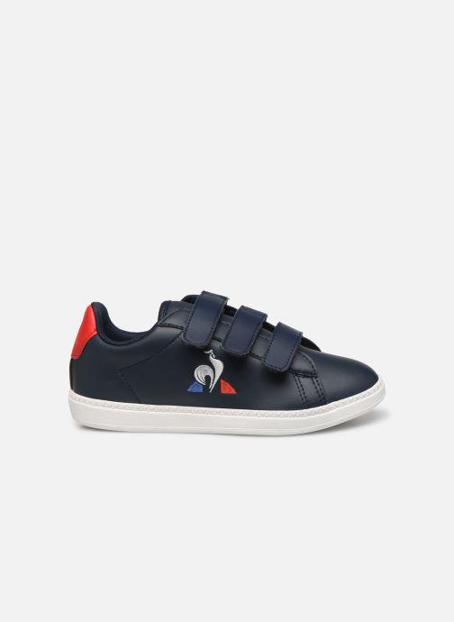 Sneakers Le Coq Sportif Courset PS Blauw achterkant
