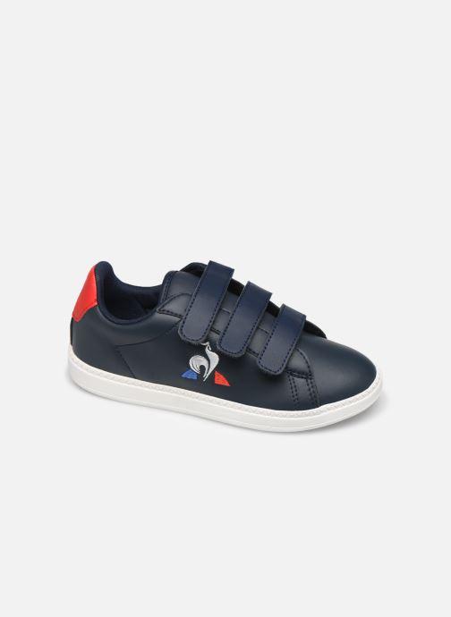 Sneakers Le Coq Sportif Courset PS Blauw detail