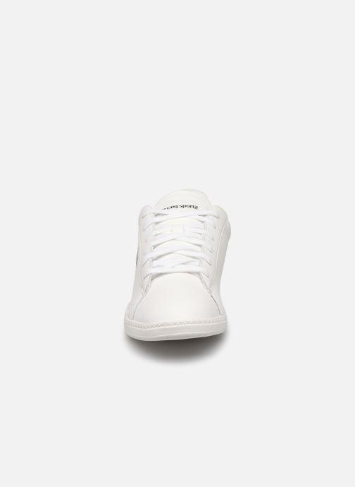 Baskets Le Coq Sportif Courset GS Blanc vue portées chaussures