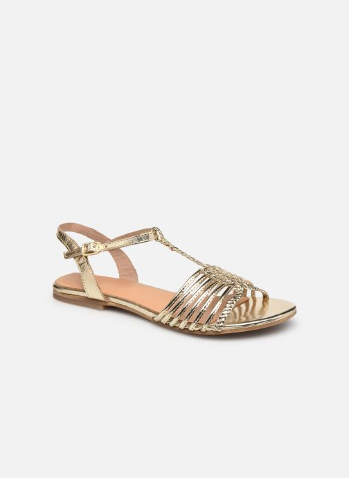 Sandales et nu-pieds Georgia Rose Katresse Or et bronze vue détail/paire