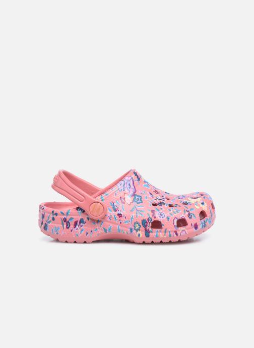Sandalias Crocs Liberty London x Crocs Classic Clog K Rosa vistra trasera
