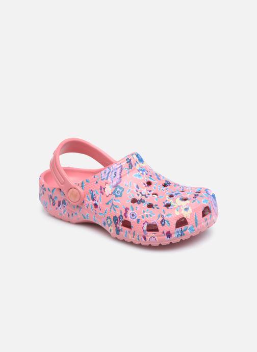 Sandali e scarpe aperte Crocs Liberty London x Crocs Classic Clog K Rosa vedi dettaglio/paio
