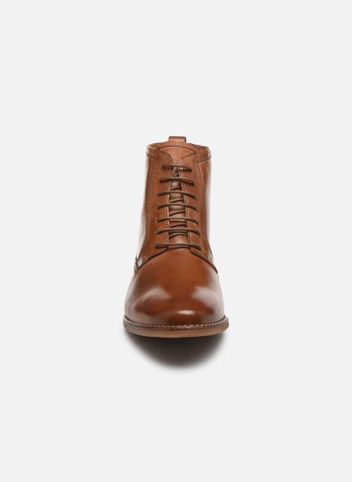 Bottines et boots Georgia Rose Noumina Marron vue portées chaussures