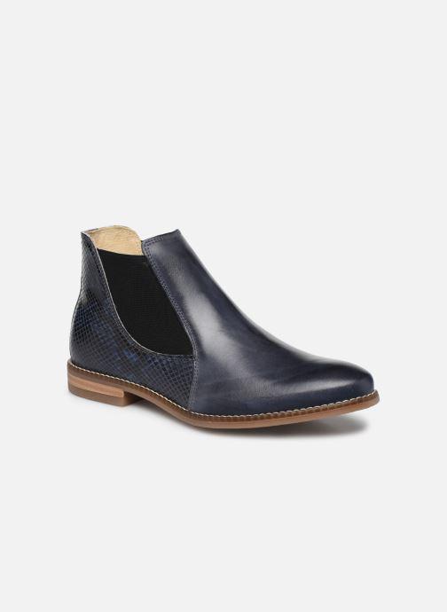 Bottines et boots Georgia Rose Nython Bleu vue détail/paire