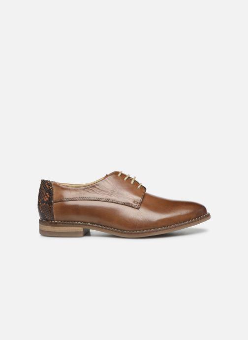 Chaussures à lacets Georgia Rose Nerpant Marron vue derrière