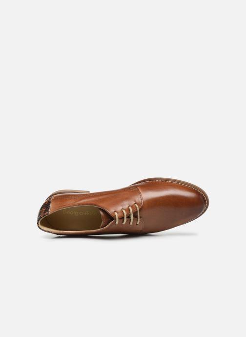 Chaussures à lacets Georgia Rose Nerpant Marron vue gauche