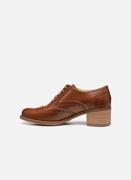 Zapatos con cordones Georgia Rose Noubois Marrón vista de frente