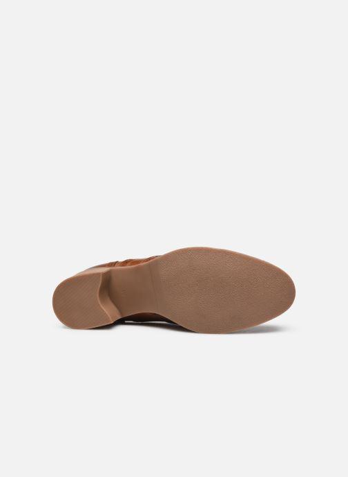 Zapatos con cordones Georgia Rose Noubois Marrón vista de arriba