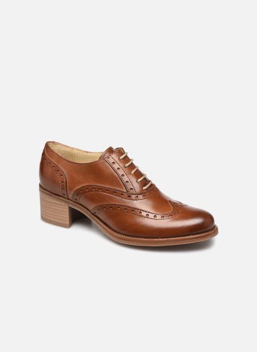 Zapatos con cordones Georgia Rose Noubois Marrón vista de detalle / par